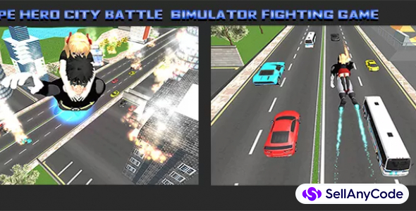 Town Hero City Battle Simulator: Fighting Games