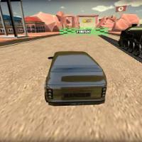 Train vs Super Car Racing 64 Bit Source Code 2020