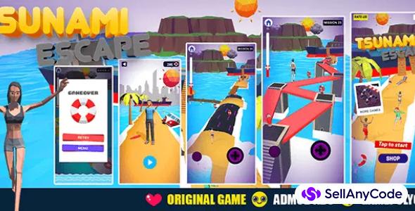 Tsunami Escape : Original game