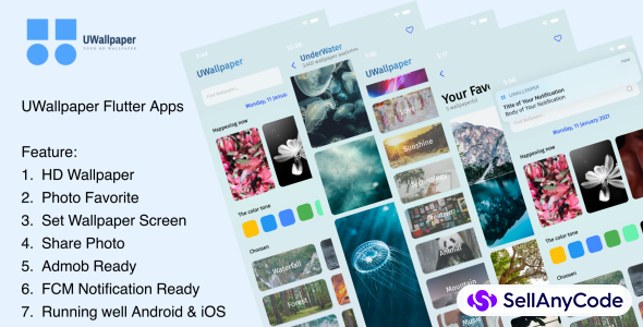 UWallpaper - Your HD Wallpaper Flutter Apps
