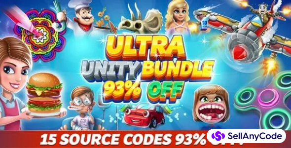 Ultra Unity Bundle 15 source codes