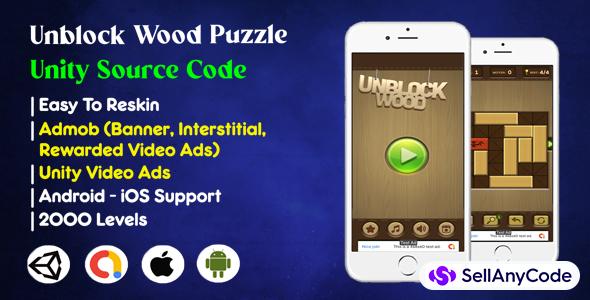Unblock Wood Puzzle Unity Source Code