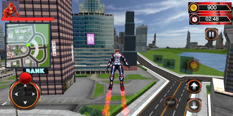 Very Premium Superheroes Game template