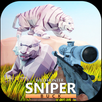 Wild Hunter Sniper Buck Unity 3D