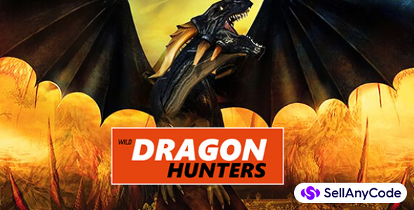 Wild dragon Hunters Unity 3D