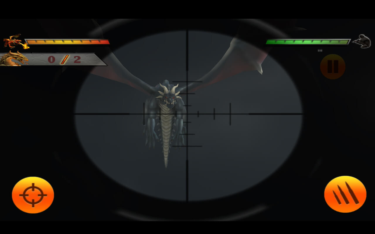 Wild dragon Hunters Unity 3D
