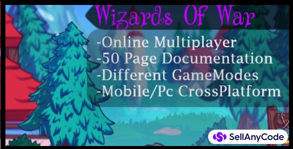Wizards Of War Online Multiplayer Shooter