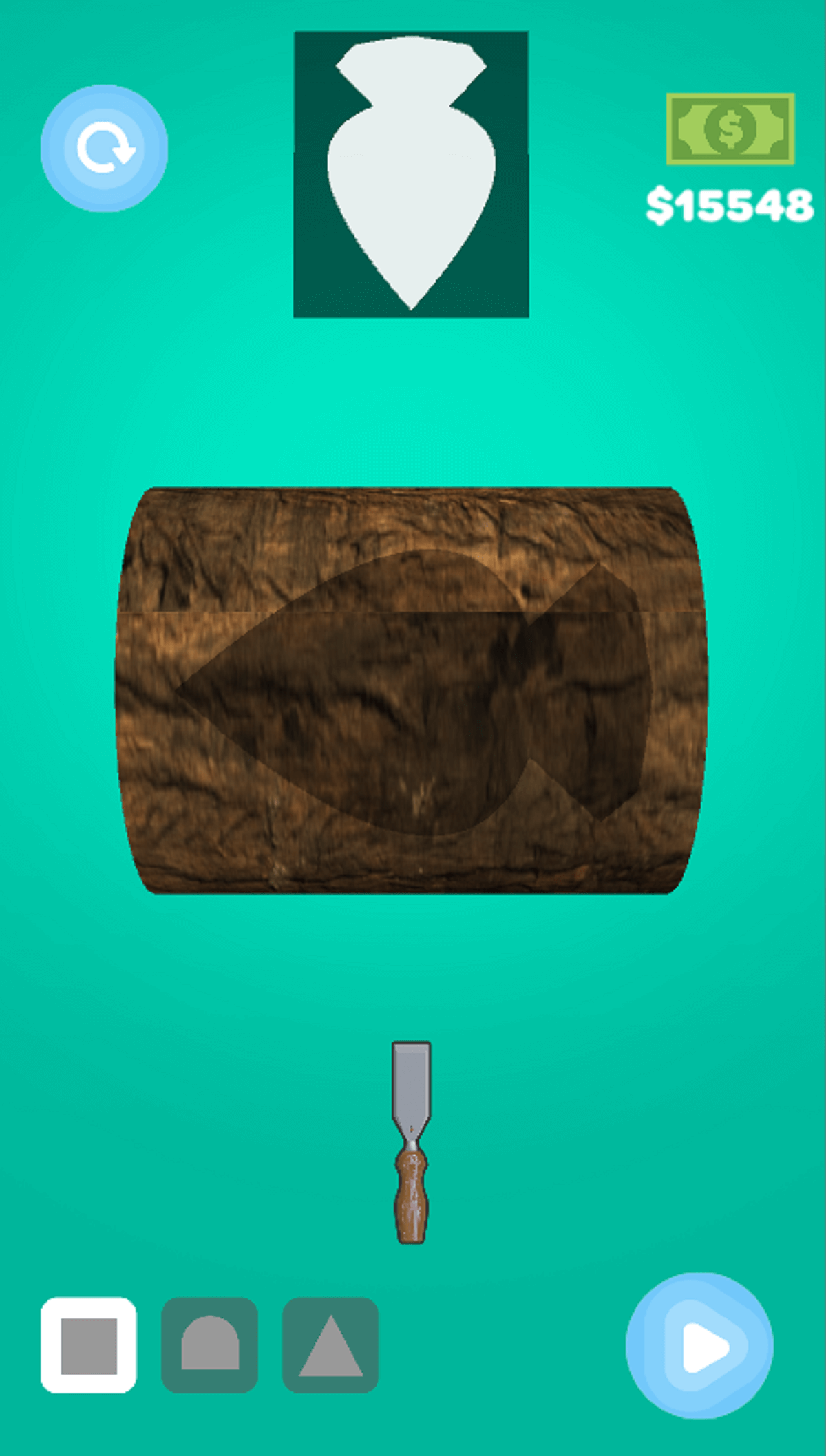 Wood Cutting and Painting Hyper Casual Game Template