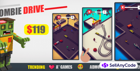 Zombie Drive| Trending Game