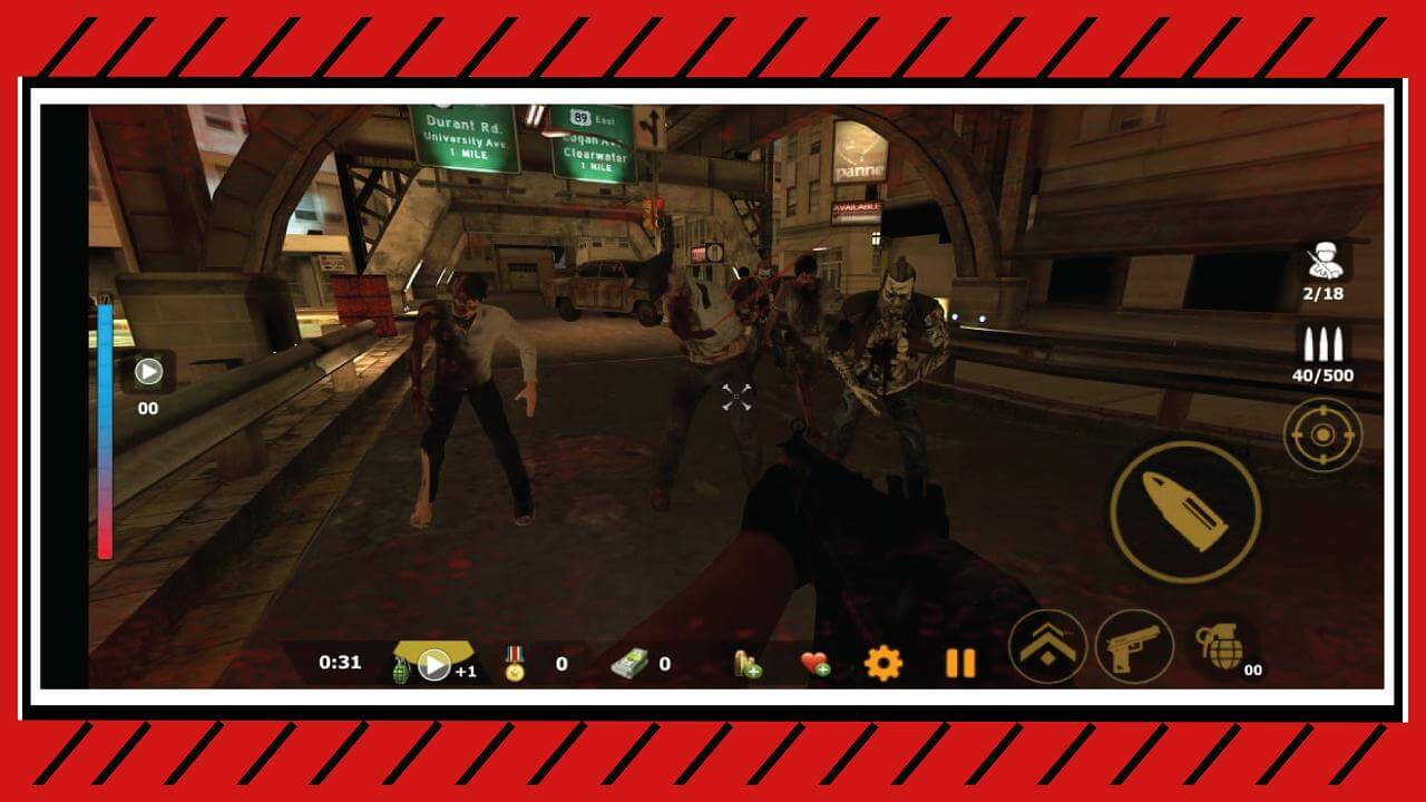 Zombie FPS Dead Shooting : Zombie Survival Game