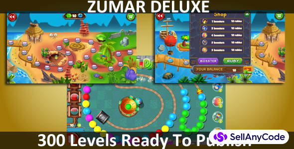 Zumar Deluxe Unity Complete Project (300 Levels)