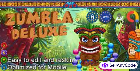 Zumbla Deluxe (Admob + GDPR + Android Studio)