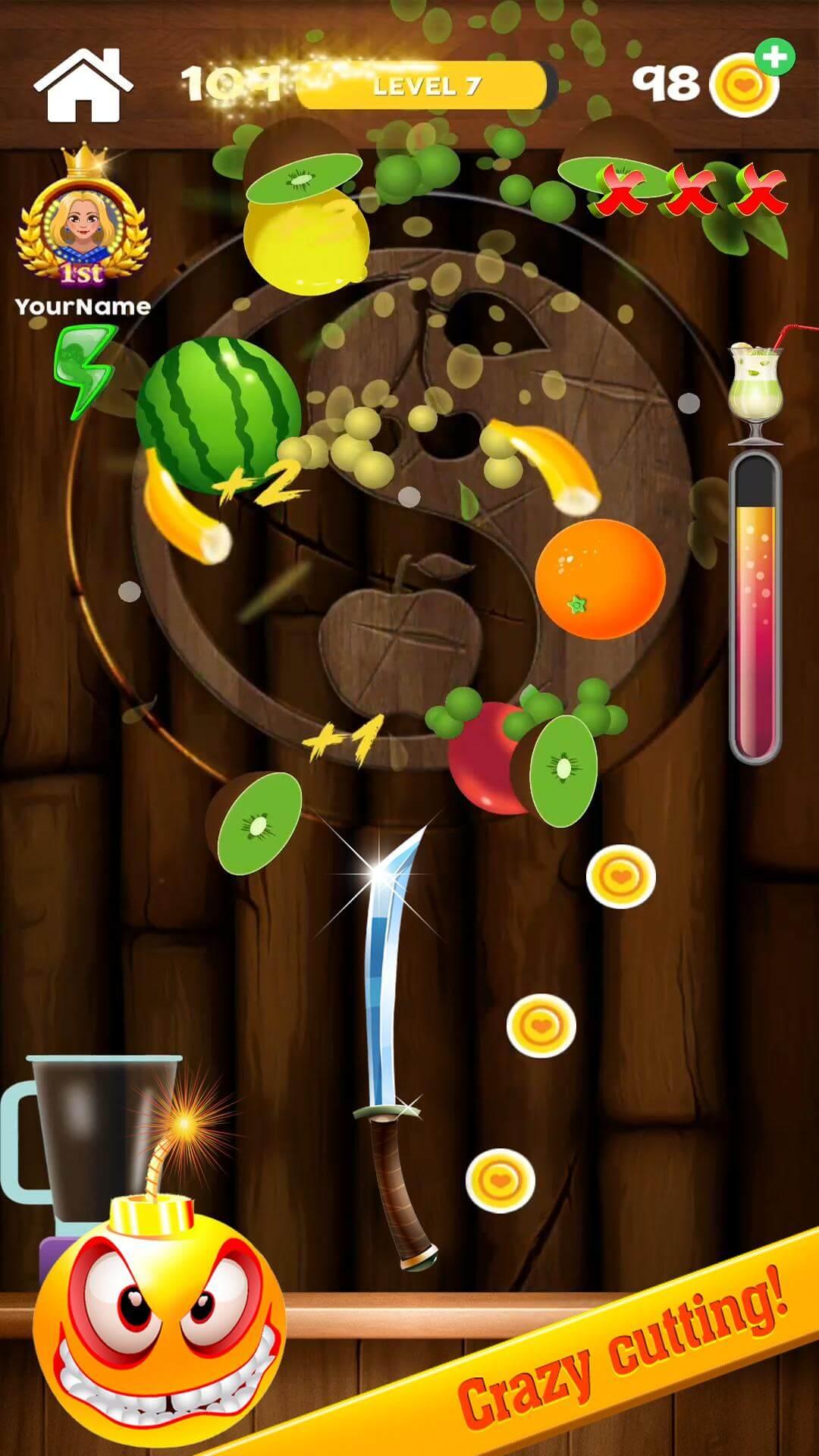 iSlash Fruit Master