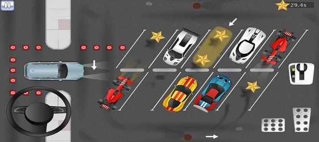 2D Realistic Car Park