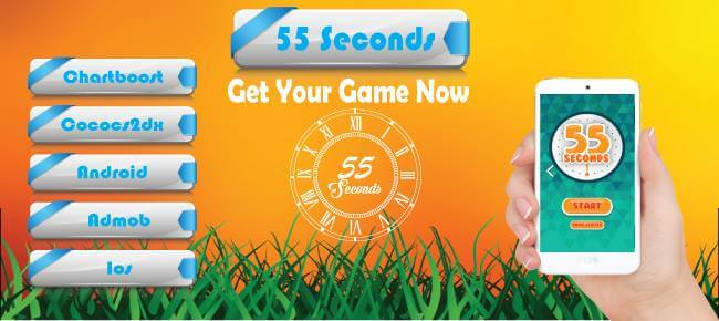 55 Seconds Puzzle Game
