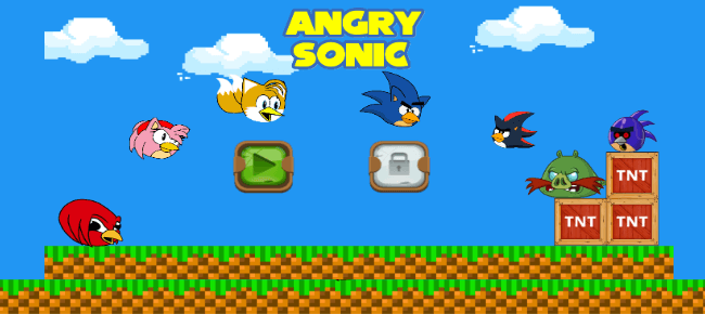Angry Sonic Classic