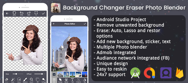 Background Changer Eraser