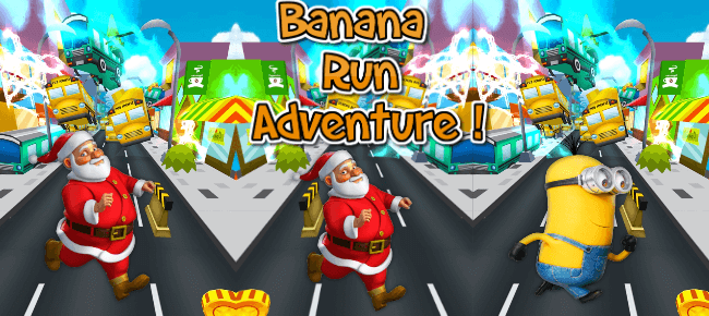 Banana Minion Rush