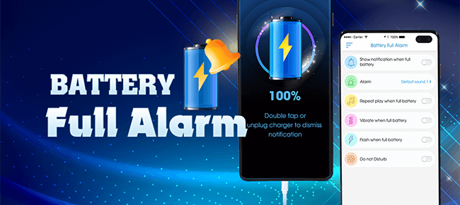 Battery Full Alarm