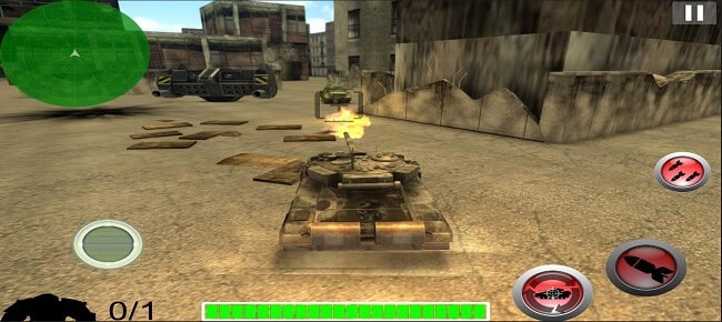 Battle Tank War