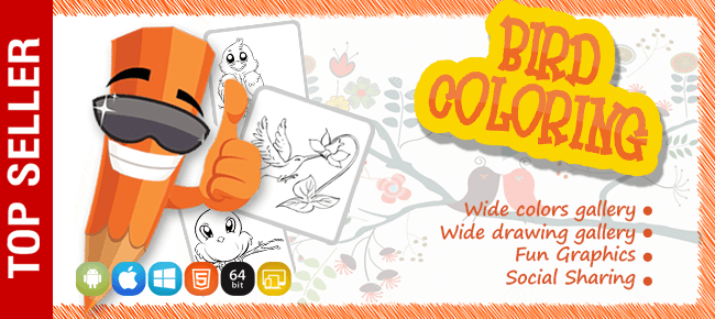 Birds Colouring Game