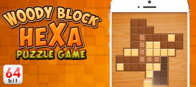 Block Hexa Woody Puzzle