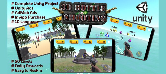 Bottle Shooting 3D