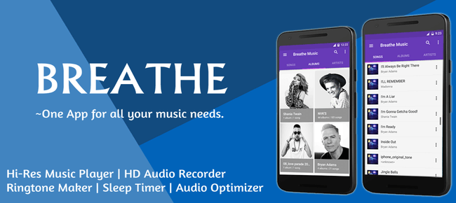 Breathe Music Player
