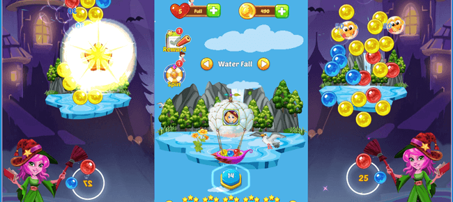 Bubble Shooter Pretty Island