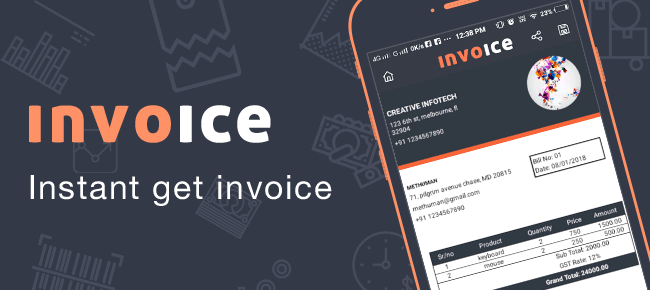 Business Invoice Bill