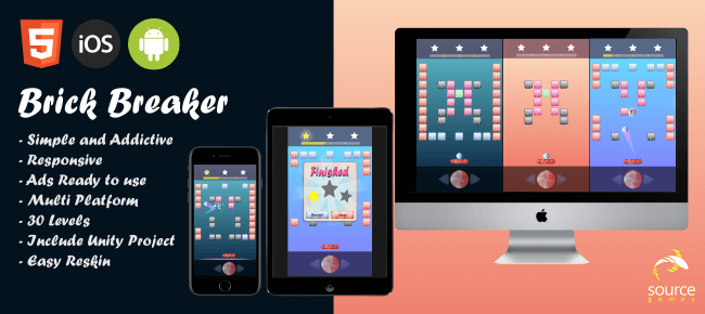 Candy Brick Breaker game