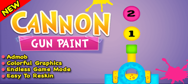Cannon Gun Paint iOS