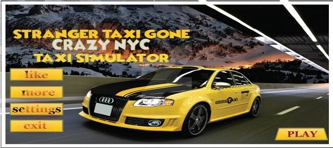 Car Taxi Simulator