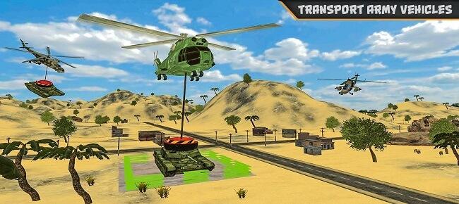 Cargo Helicopter Simulator