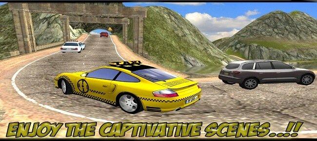 City Taxi Car