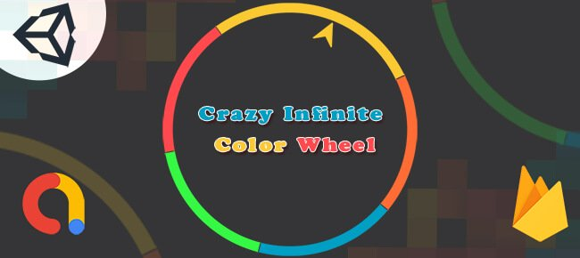 Crazy Infinite Color Wheel