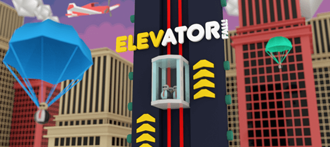 Elevator Fall, Reskinned Game Template. Ready For Launch - Sell My App