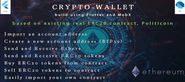 ERC20 Crypto Wallet