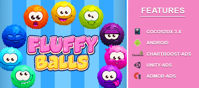 Fluffy Ball Stack Puzzle