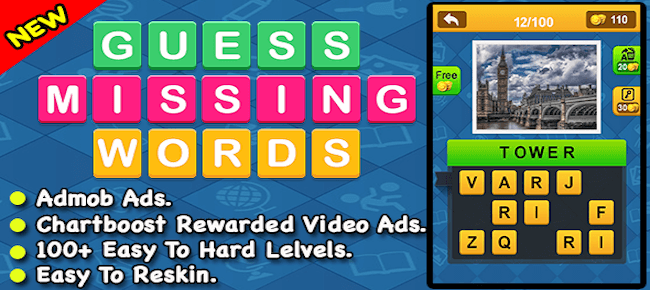 Guess Missing Word
