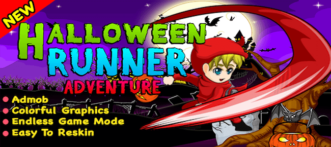 Halloween Runner Adventure