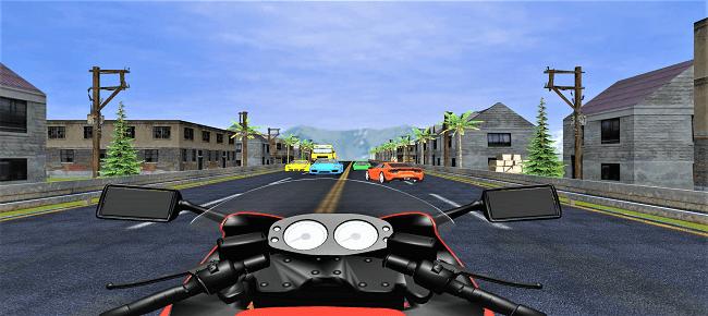 Highway Moto Rider