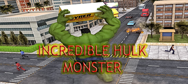 Incredible Hulk Fight In City