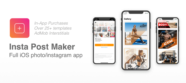 Insta Post Maker iOS