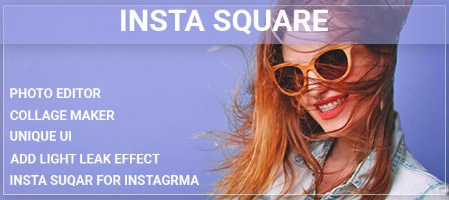 Insta square photo editor