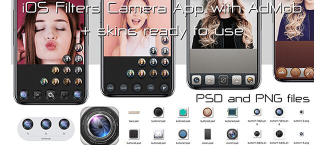 iOS Filters Camera