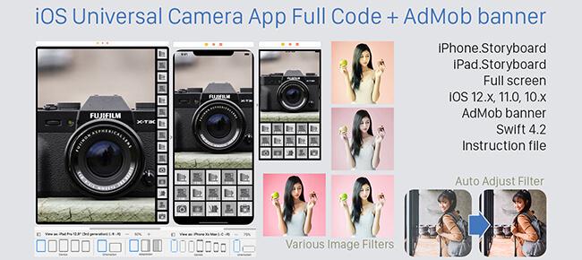 iOS Universal Camera