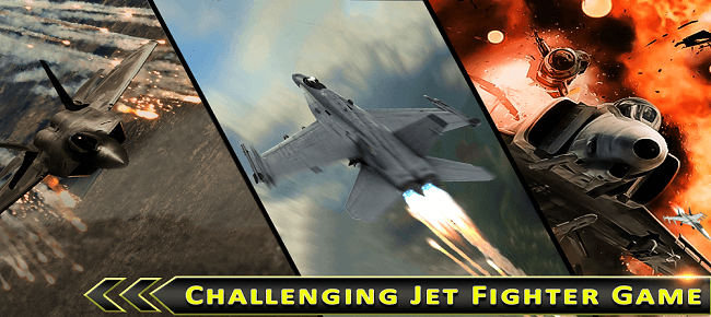 Jet Fighter Air Attack 3D
