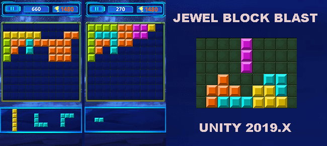 Jewel Block Blast App Reskinned Game Template. Ready For Launch - Sell My App