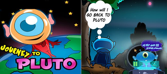 Journey To Pluto Jumping